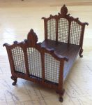 274. Victorian Single Bed (mesh boards)